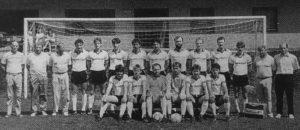 Landesliga-Vizemeister 1986/87 mit Kapitän Reiner (stehend, 3. v. r.)