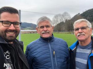 Sprecher in dieser Folge: Stephan Wehrle, Hans-Peter Schultis und Reiner Schultis (v. l.)