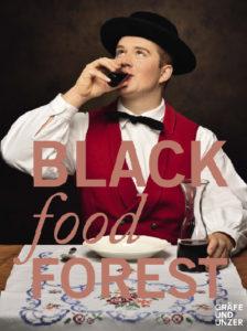 """Cover des Buches """"Black food Forest"""", erschienen bei Gräfe & Unzer"""