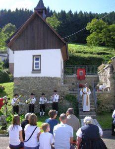 Die Hofkapelle St. Andreas bei der Einweihung 2010 (Foto: Hans-Jürgen Wehrle / Badische Zeitung)