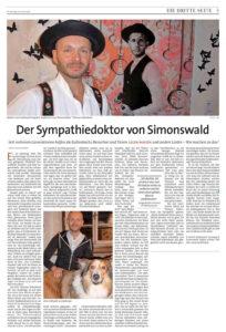 """Pressebericht in der Zeitung """"Der Sonntag"""", der den Stein ins Rollen brachte (Quelle: Katja Rußhardt, Der Sonntag)"""